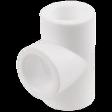 Тройник PP-R белый VALFEX
