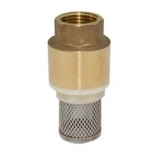 Клапан обратный осевой латунь CC1142 ВР Tecofi