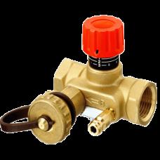 Клапан балансировочный ручной латунь MNT Ру16 ВР Danfoss