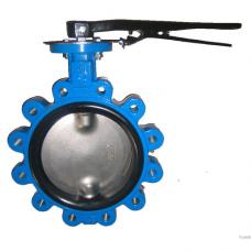 Затвор дисковый поворотный чугун ВА межфл манжета EPDM