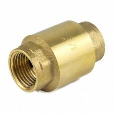 Клапан обратный осевой латунь 3001 ВР Aquasfera