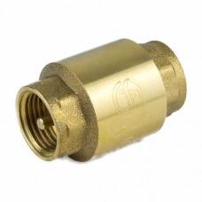 Клапан обратный осевой латунь 3002 ВР Aquasfera