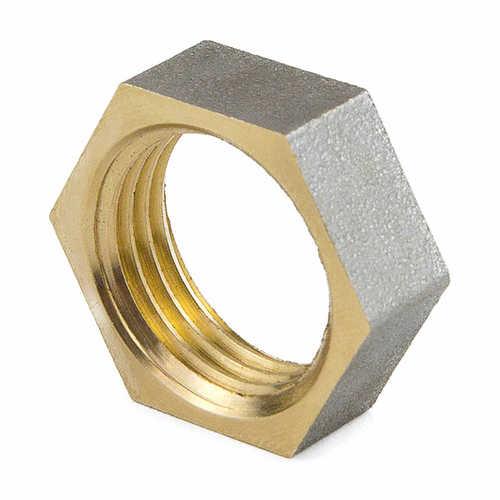 Контргайка латунь никель ВР 9020 ГОСТ 32585-2013 Aquasfera
