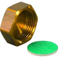 Заглушка для коллектора H латунь Aqua PLUS Uponor