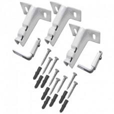 Комплект монтажный настенный длинный для панельных радиаторов тип 21/22