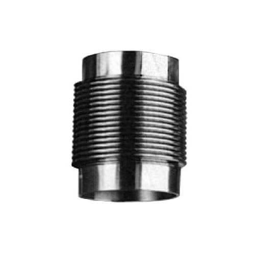 Компенсатор сильфонный осевой б/кожуха с гильзой сталь нерж HYDRA Ру16 бар под приварку Danfoss