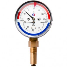 Термоманометр радиальный ТМТБ 120C Росма