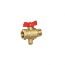 Кран 11б27п13 для термодатчика шаровой ВР/НР Цветлит