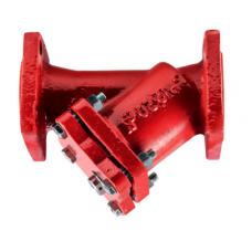 Фильтр магнитный сетчатый Y-образный чугун ФМФ фл Водоприбор