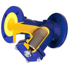 Фильтр магнитный сетчатый Y-образный чугун 821А фл Zetkama