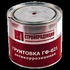 Грунтовка ГФ-021 банка 2,5кг цвет: серый ГОСТ 25129-82