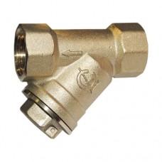 Фильтр магнитный сетчатый Y-образный латунь газ 118015 ВР ГАЛЛОП