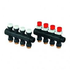 Группа коллекторн модульная коллекторн модульная пластик Vario PLUS НР с балансировочными клапанами Uponor