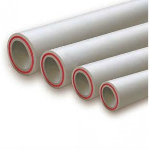 Труба PP-R арм стекловолокном серая Ру20 SDR7,4 VALFEX