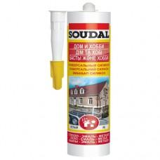 Герметик силиконовый высокотемпературный GASKET SEAL картридж 280мл красный Soudal