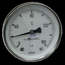 Термометр биметаллический Дк63 осевой 160C НПО ЮМАС