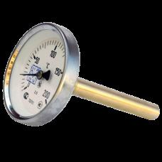 Термометр биметаллический Дк100 осевой 200C НПО ЮМАС