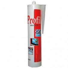 Герметик силиконовый санитарный Profil картридж 270мл бесцветный Soudal