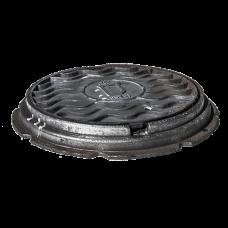Люк чугун Т (тяжелый) водопроводный ГОСТ 3634-99 Кронтиф