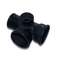 Крестовина чугун канализационная 2-плоскостная ГОСТ 6942-98 Кронтиф