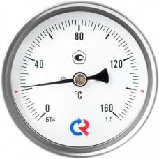 Термометр биметаллический Дк80 осевой 60C Росма