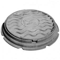 Люк чугун Л (легкий) водопроводный ГОСТ 3634-99 Кронтиф