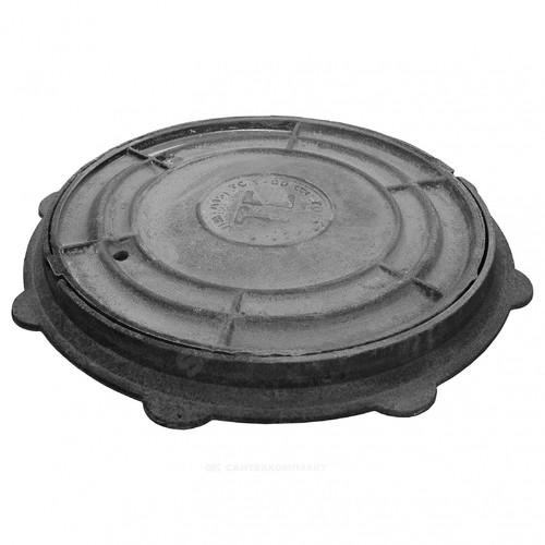 Люк чугун ЛМ (легкий малогабаритный) водопроводный ГОСТ 3634-99 Кронтиф