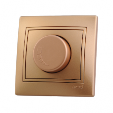 MIRA Диммер 800 Вт метал золото со вставкой (10шт/120шт)